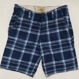 Hollister Flat Front Shorts 34W